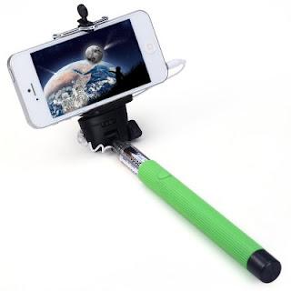 Palo selfie verde