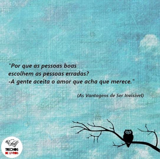 Carla Tavares Do Livro As Vantagens De Ser Invisível