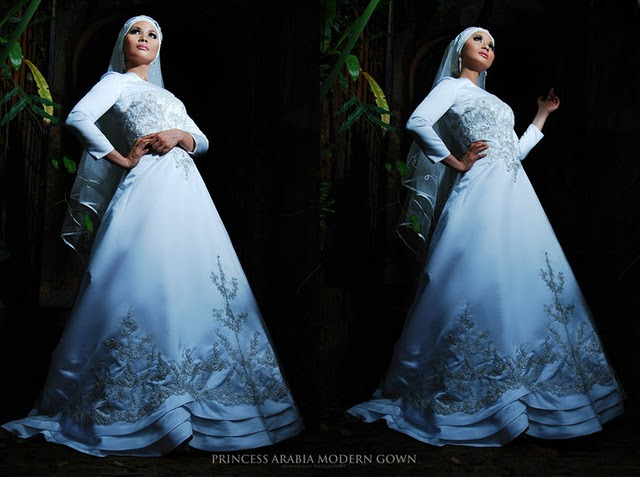 THE BRIDE WEARS HIJAB: Princess Arabia Muslimah Bridal Facebook ...