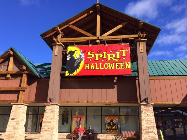 the spirit halloween store is now open across from chipotle in the outlets at silverthorne have a safe and fun halloween everyone
