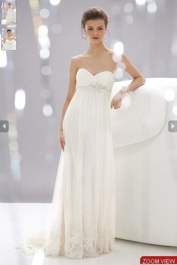 The Rent Costs Of Pregnant Wedding Dresses Are Usually Higher Than Normal And Custom Made Also