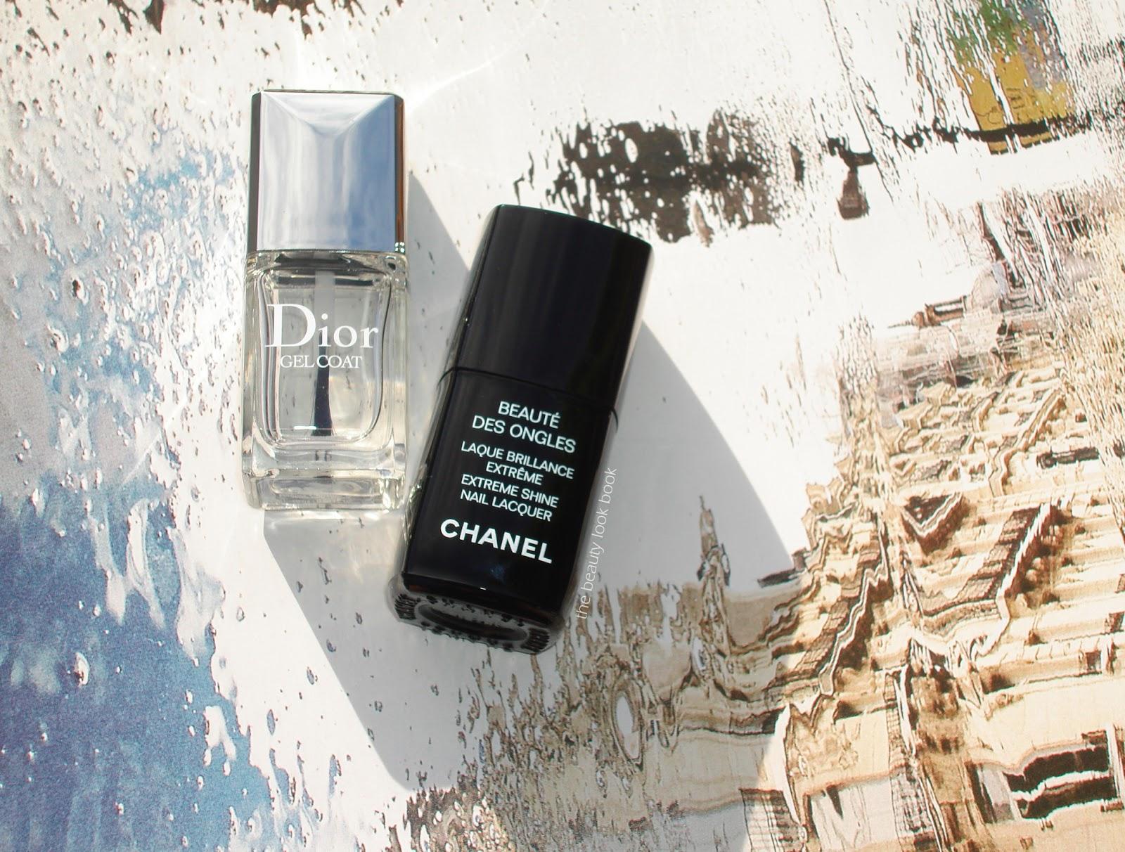 Top Coats: Dior Gel Top Coat vs. Chanel Laque Brilliance Extreme ...