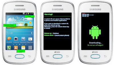 Download Mode Samsung Galaxy Pocket Neo DUOS S5312