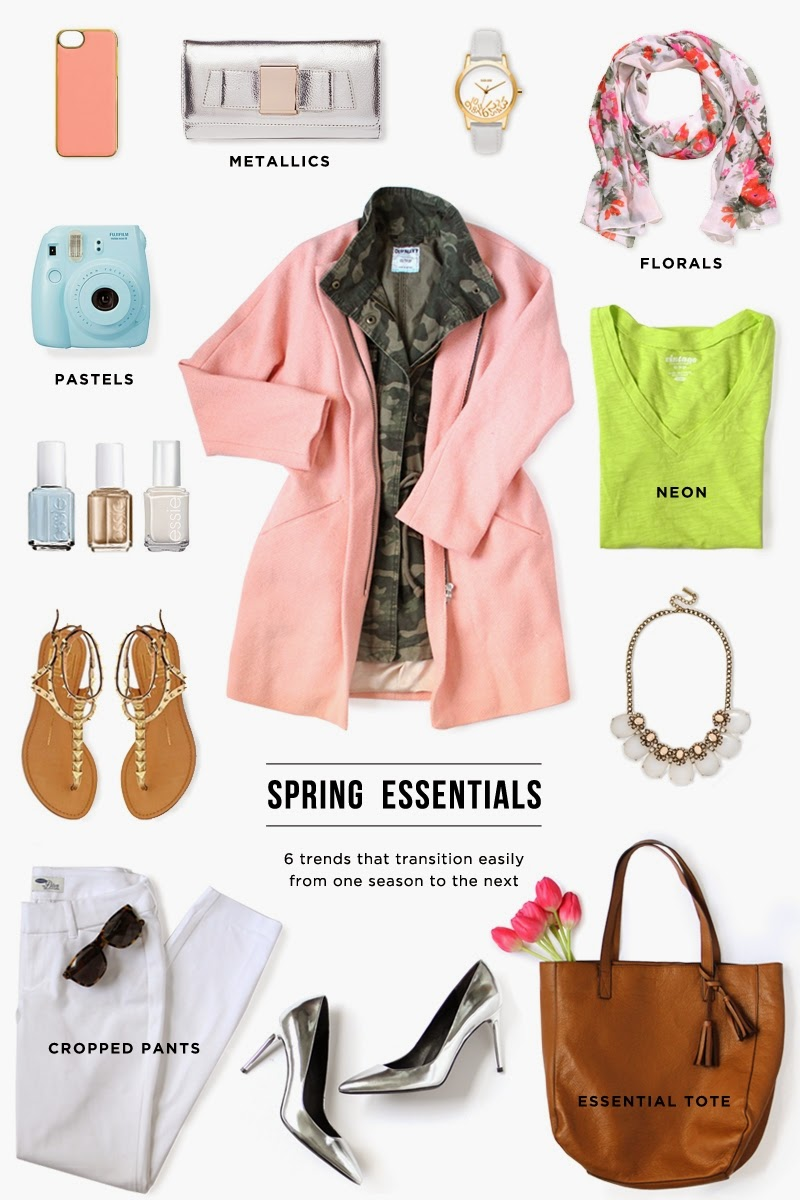 Spring's 6 Best Essentials