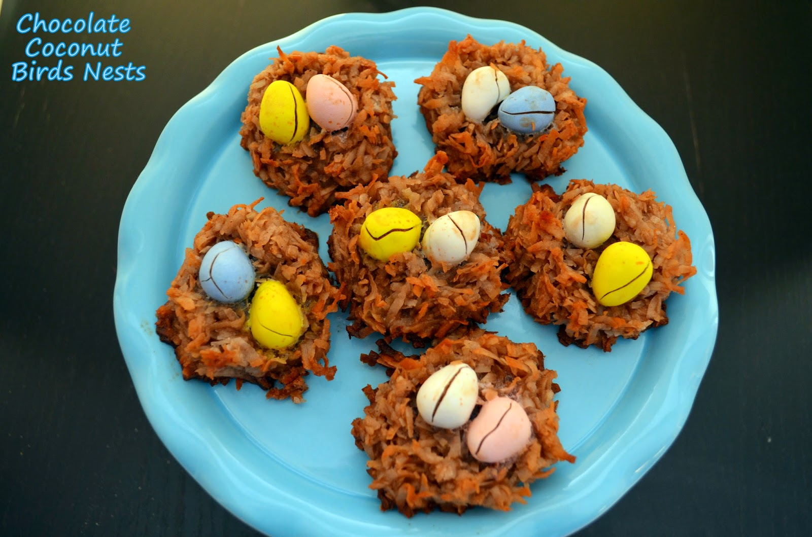 Flavors by Four: Chocolate Coconut Birds Nests