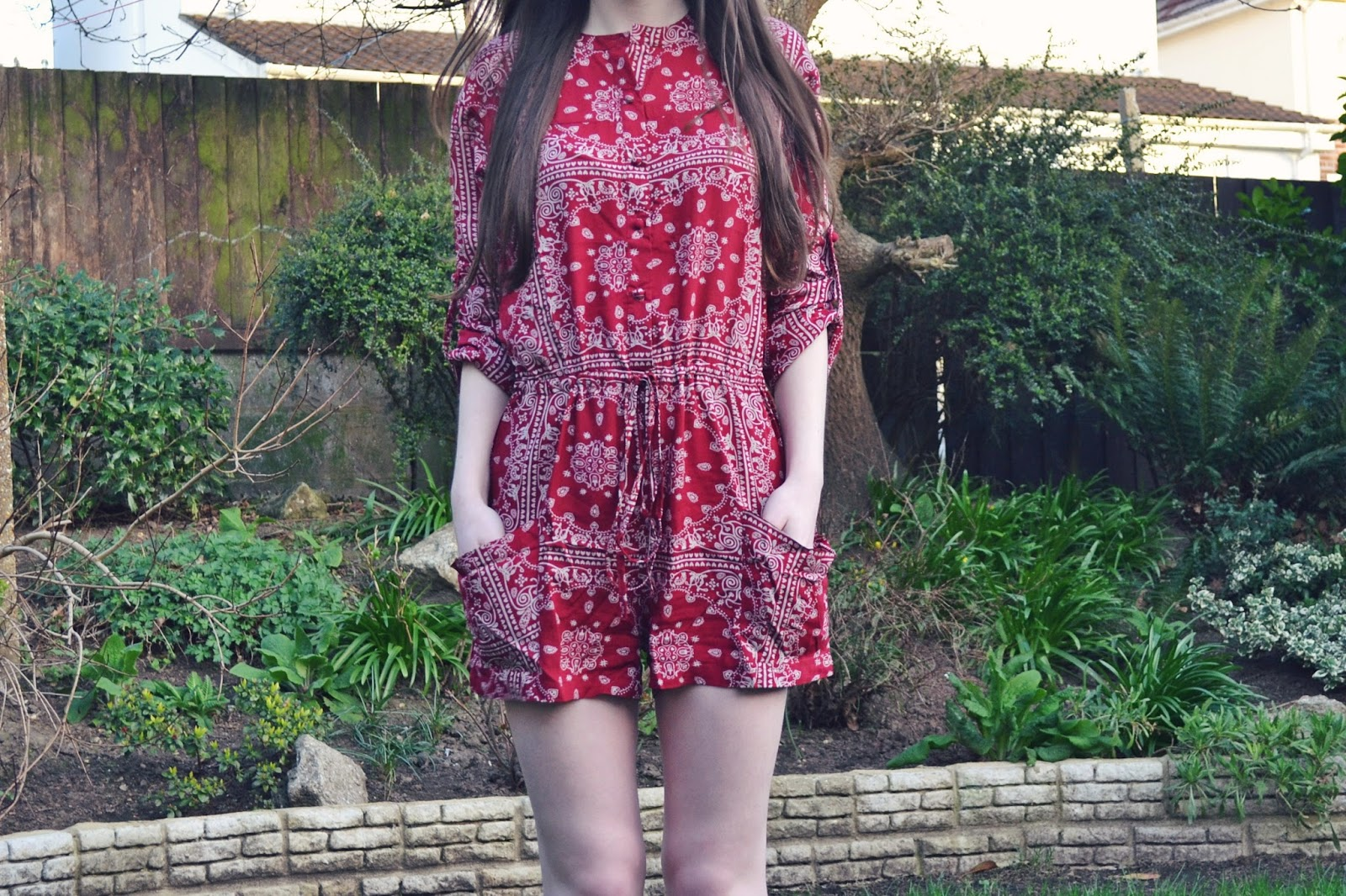 lunar look 70s naanaa playsuit