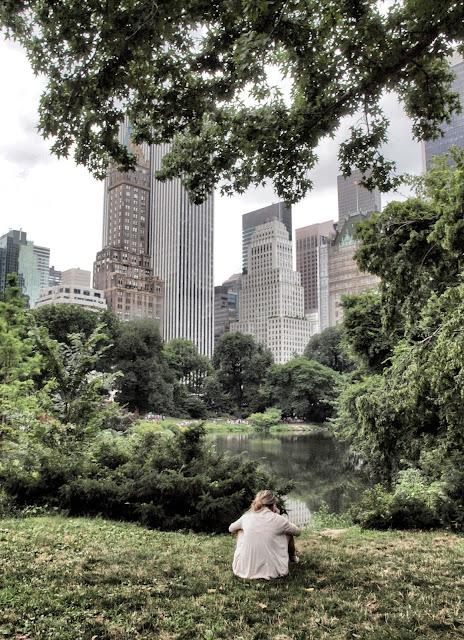 Peaceful Spots, Overlooking #thePond, #centralpark, #NYC, Details, Details, Details