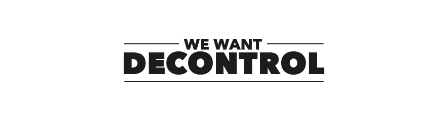 We want decontrol