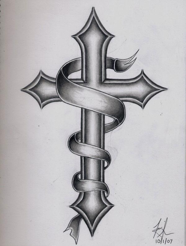 design gallery cross tattoos new tattoos jijek. Black Bedroom Furniture Sets. Home Design Ideas