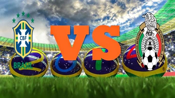 Prediksi Skor Piala Dunia Terjitu Brasil vs Meksiko jadwal 18 Juni 2014