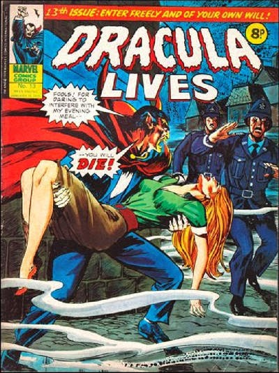 Marvel UK Dracula Lives #13