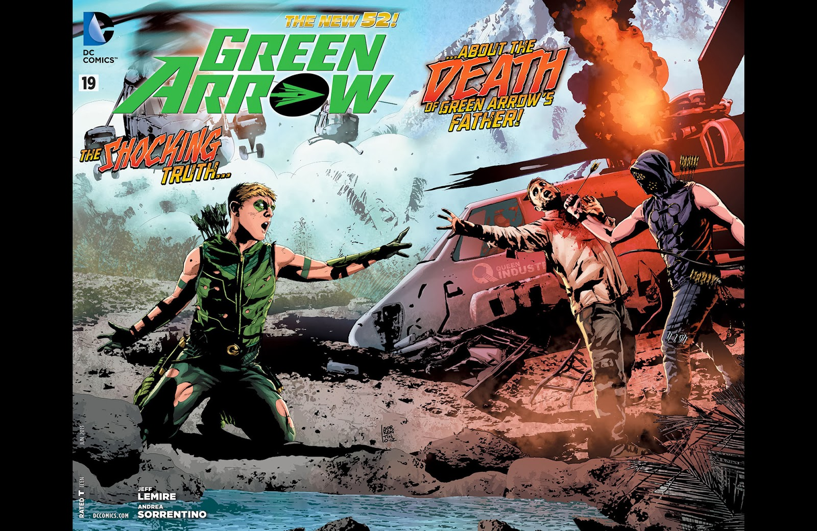 Green Arrow v6 019 ……………………………………