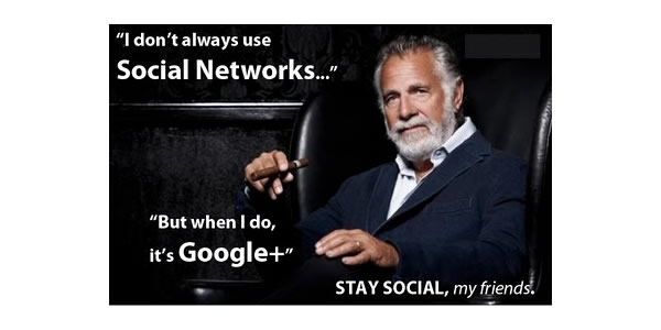 Google Plus Funny Images: Stay Social by Tom Anderson