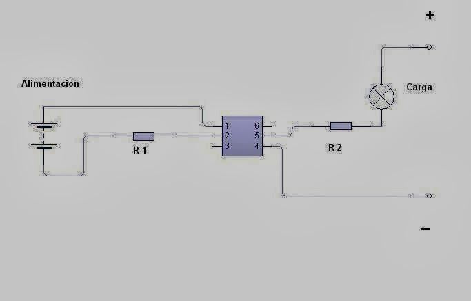 Circuito Optoacoplador : Inventos electronicos optoacoplador