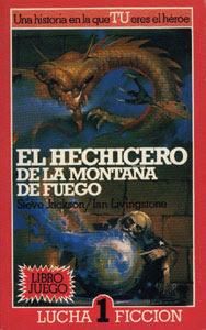 El hechicero de la montaña de fuego, edición de Altea