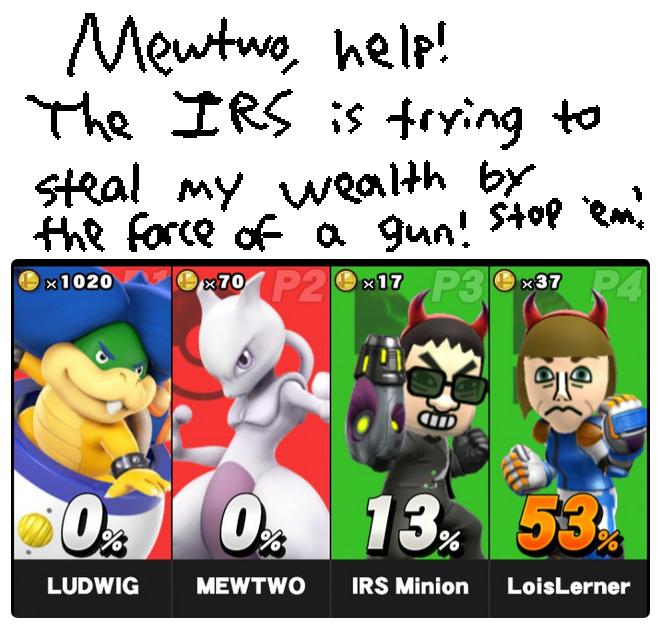 Mewtwo Strikes Back Smash