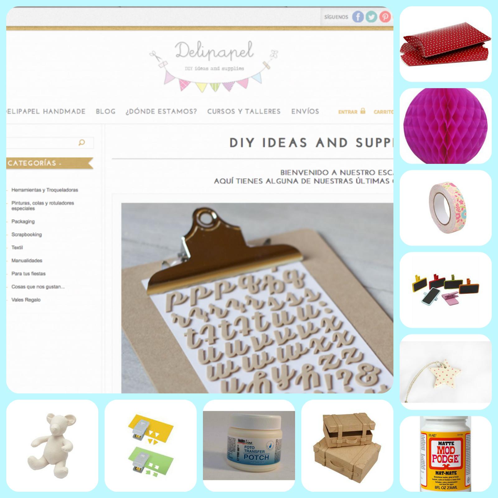 Delipapel Tienda manualidades on line