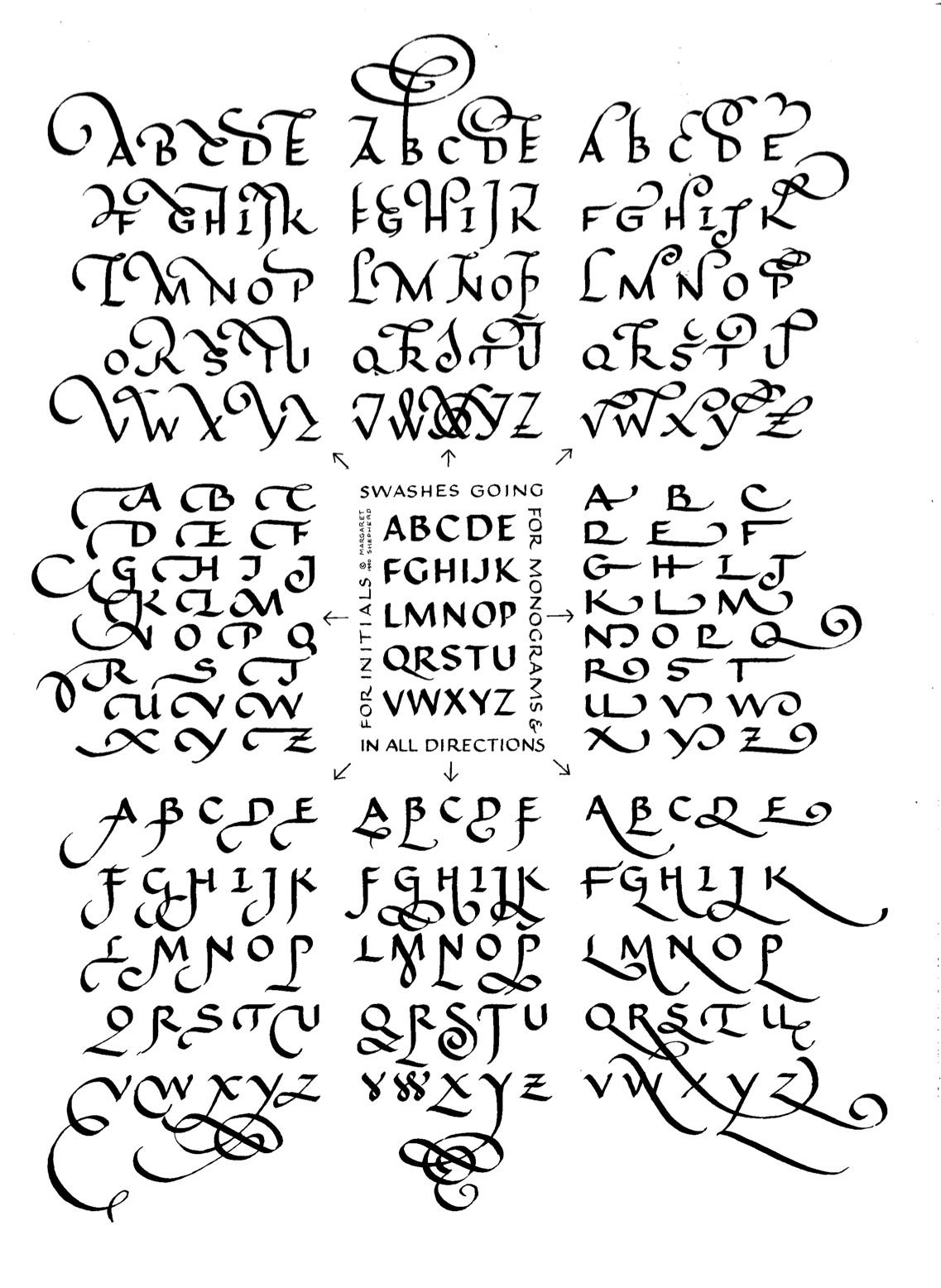Margaret Shepherd Calligraphy Blog February 2012