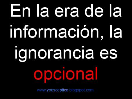 ignorancia