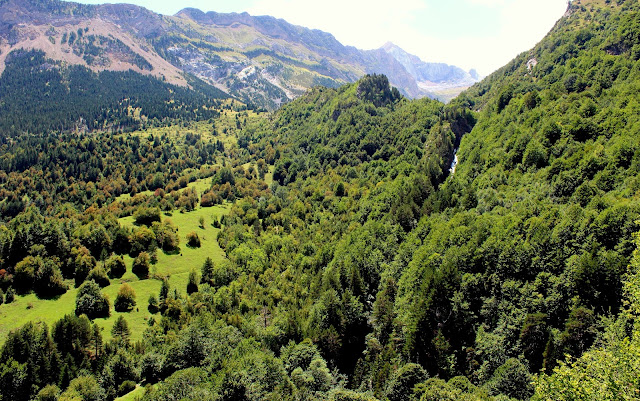 Cascada del río Otal-Valle de Otal-Huesca