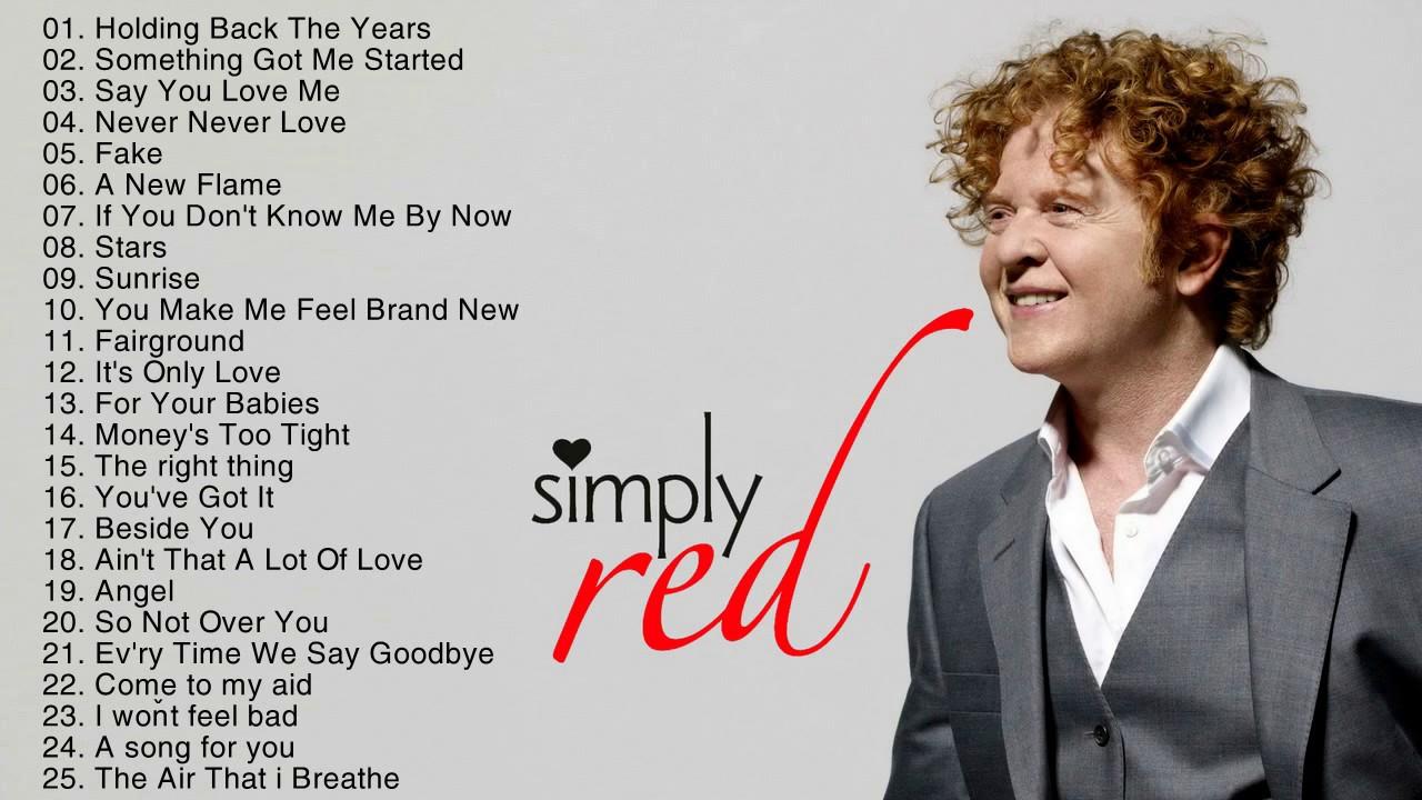 OVERDOSE SIMPLY RED - EM AGOSTO