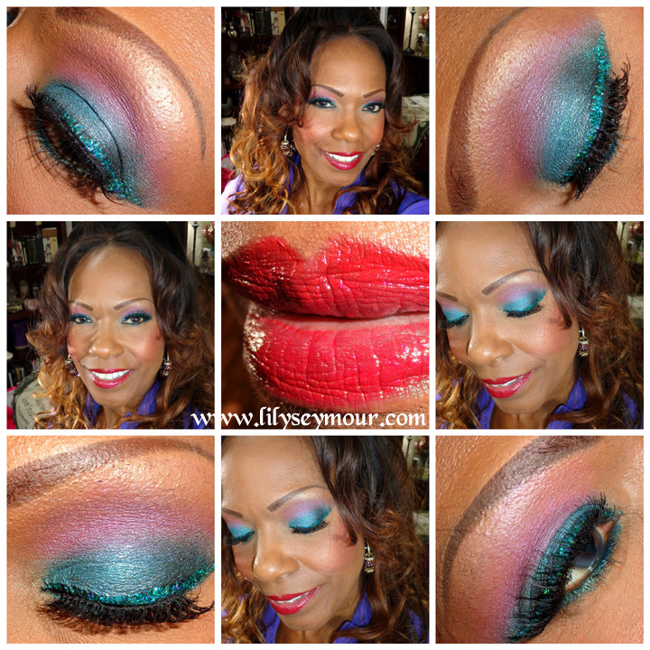 A Pop of Sparkle with Mac Jewelmarine Glitter