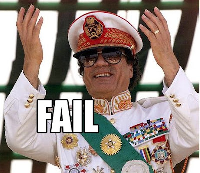 gaddafi fail pic