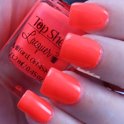 Top Shelf Lacquer Jamaican Me Crazy Red swatches