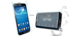 Samsung Galaxy Mega 6.3 I9200 Android 6.3 Inch Kamera 8 MP Harga 4 Jutaan