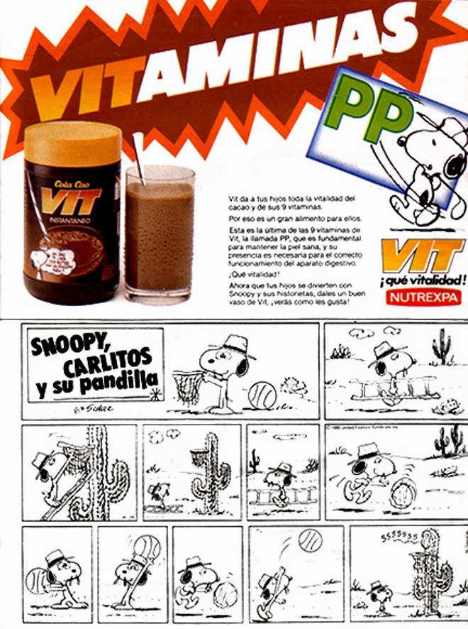 Cola Cao Vit Publicidad de los años 80