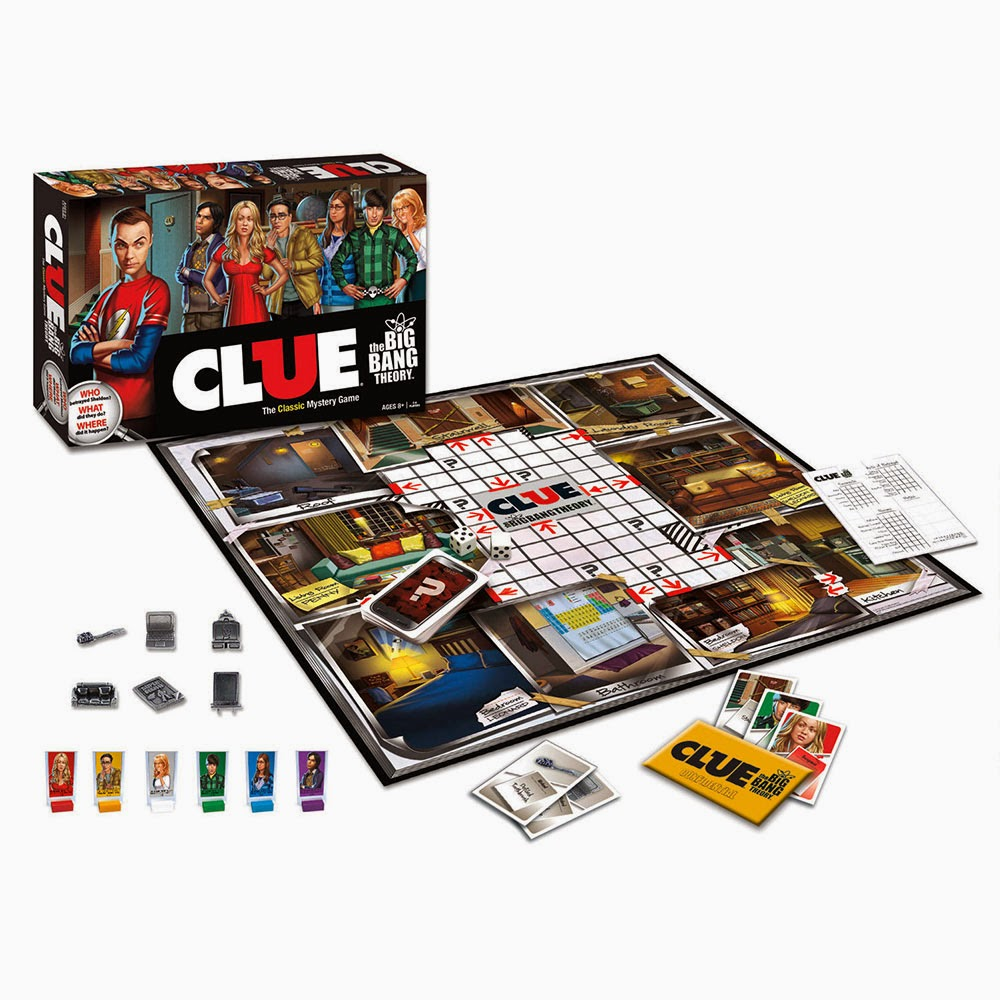 Cluedo de The Big Bang Theory