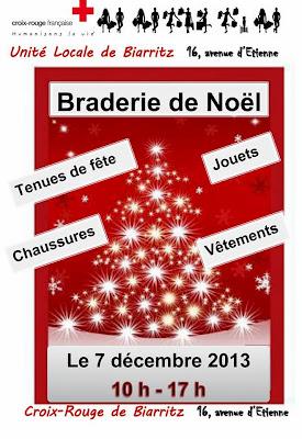 grande braderie de Noël de la Croix-Rouge 2013