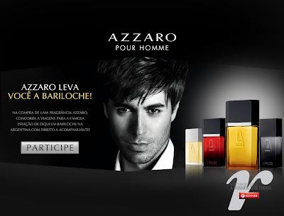 """Promoção """"Azzaro leva você para Bariloche"""""""