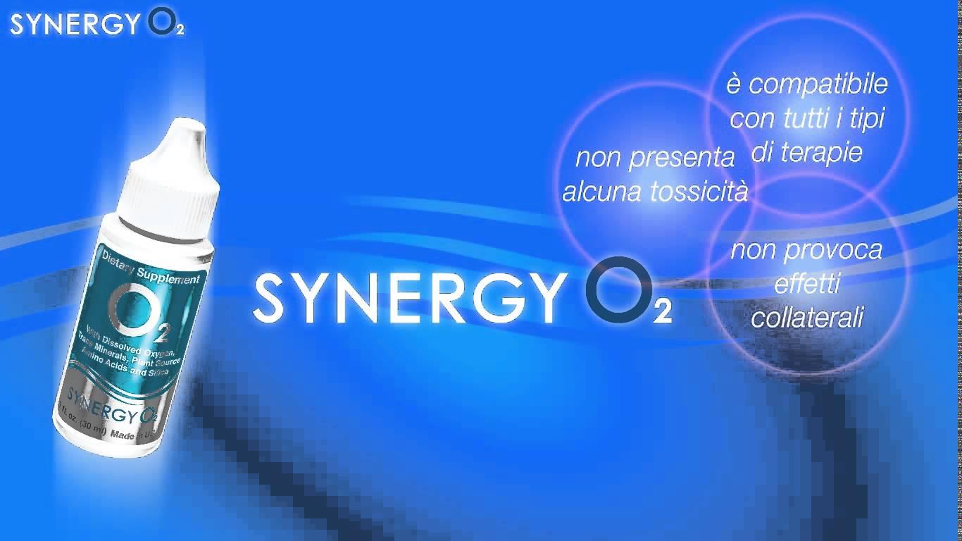 SyneryO2 Ossigenazione cellulare del Terzo Millennio!