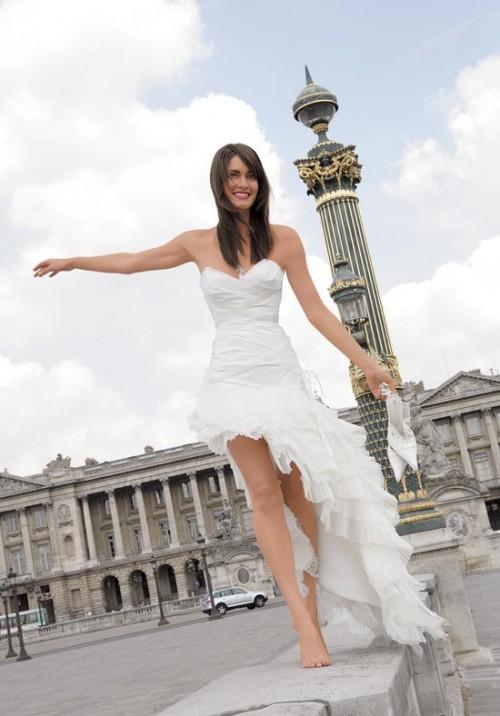 Paris paris wedding for Wedding dresses in paris france