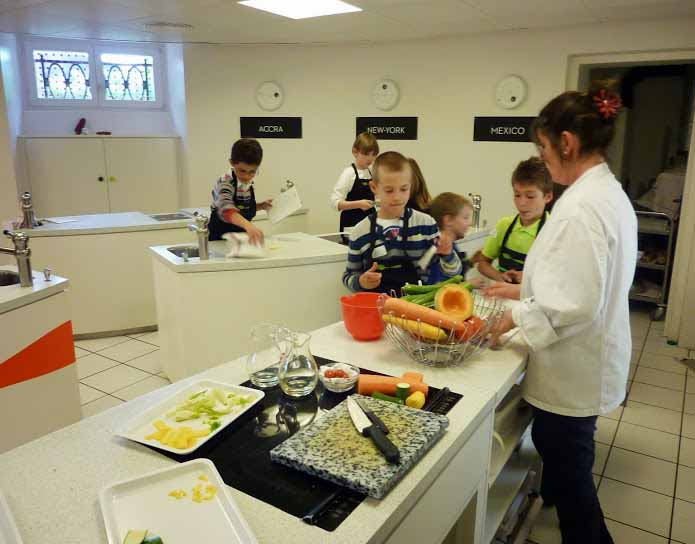 The kids projects atelier cuisine l 39 alimentarium de vevey for Atelier cuisine vevey