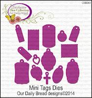 ODBD Custom Mini Tags Dies