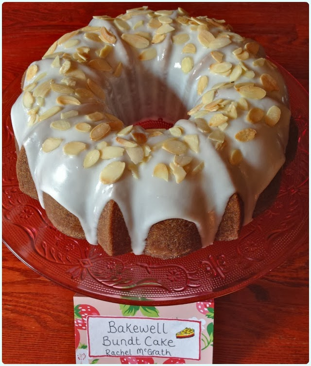Bakewell Bundt Cake