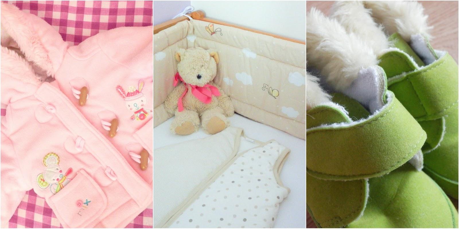 oblečení pro miminko, postýlka pro miminko