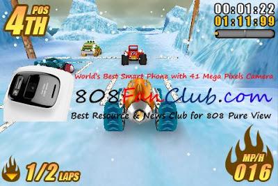 Fishlabs Burning Tires™ 3D 1.0.1 for Nokia N8 & Belle ...