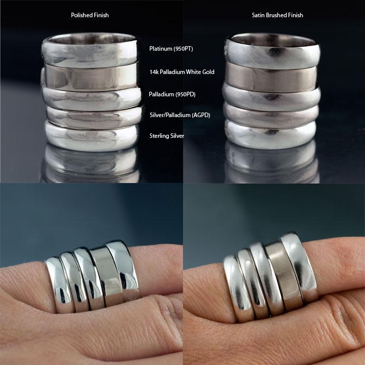 Platinum Alloy Ring
