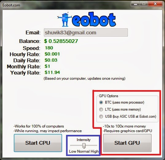 eobot программа для майнинга не работает