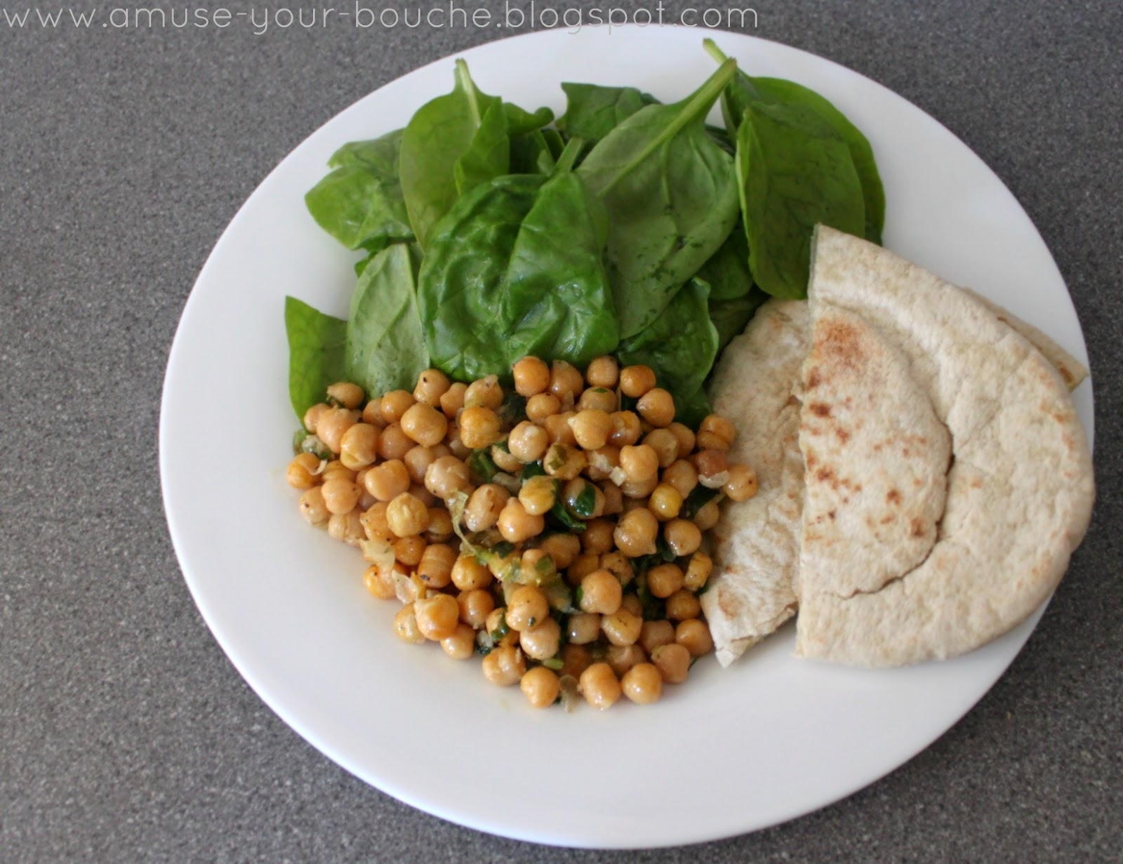 Peppery Chickpeas Peppery Chickpeas new foto