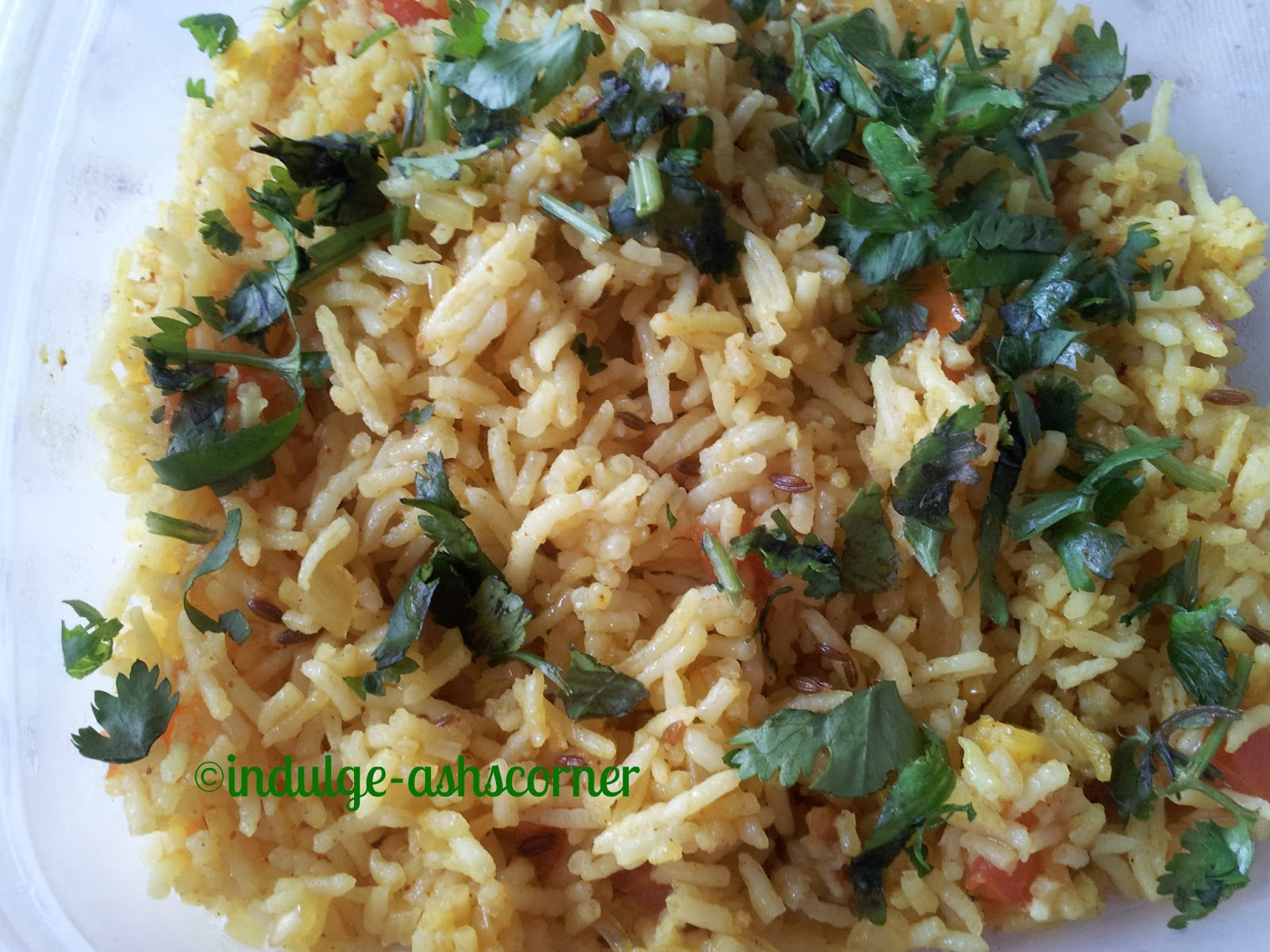 IndulgeAshscorner: Phodnicha Bhat- Tadka Rice-Kids School ...