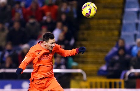 Messi Hat-Trick Lagi