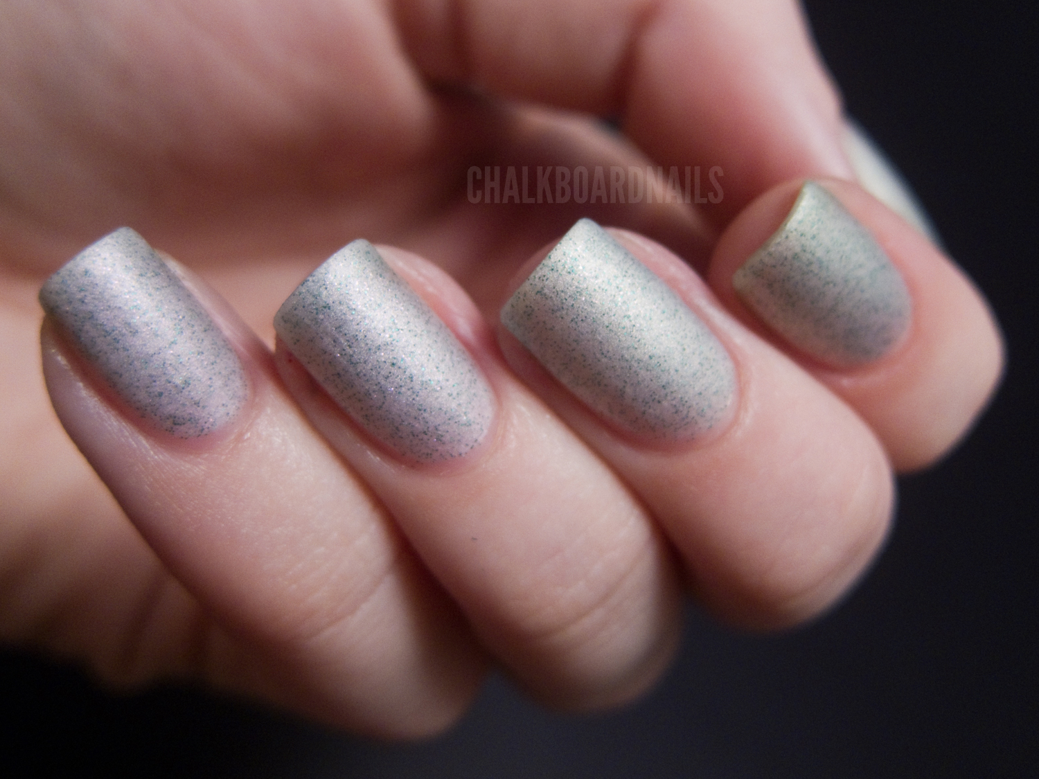 Pretty and Polished - Toy With Me | Chalkboard Nails | Nail Art Blog