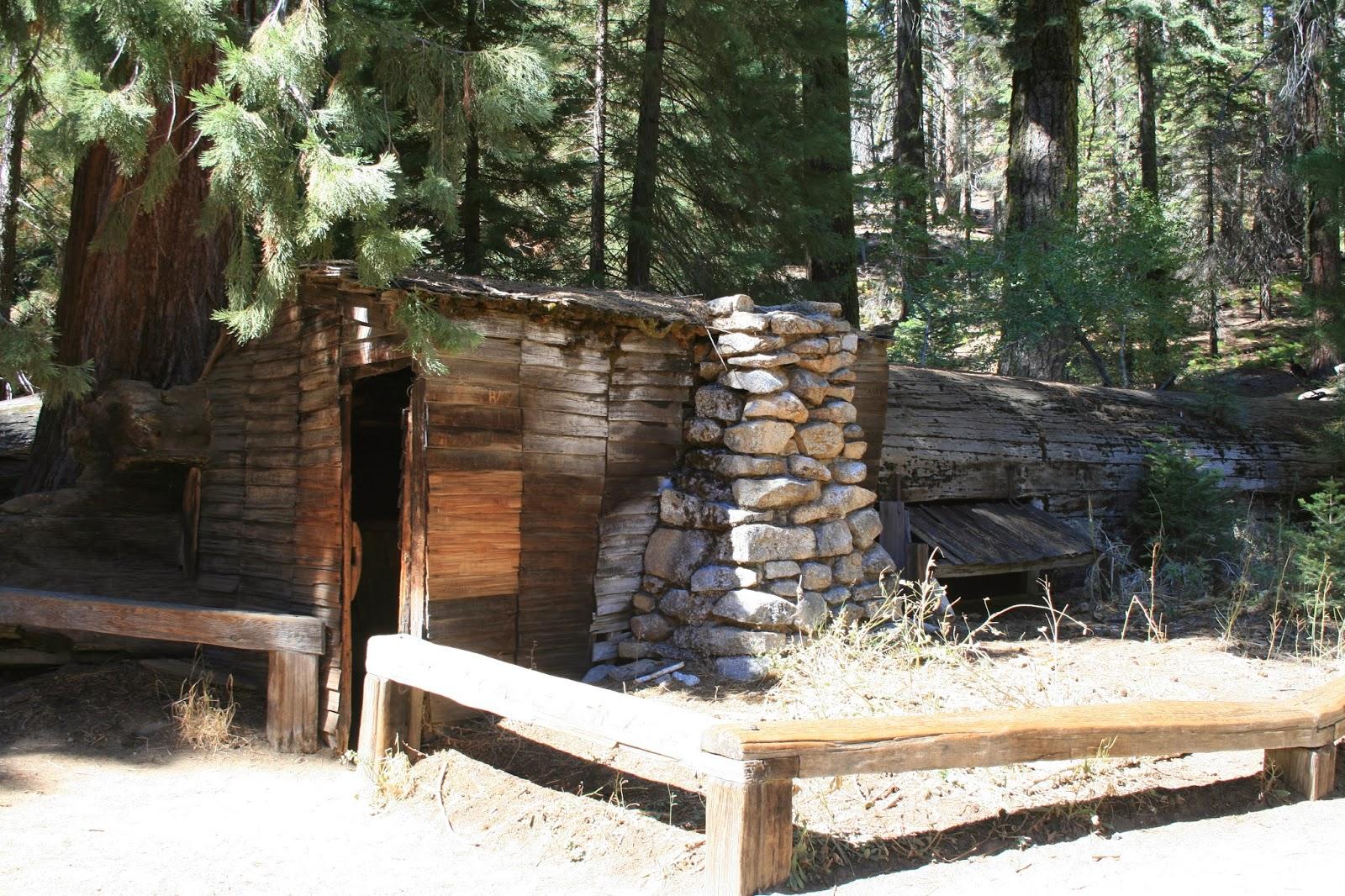 Por favor habla despacio sequoia national park for Log cabin sequoia national park
