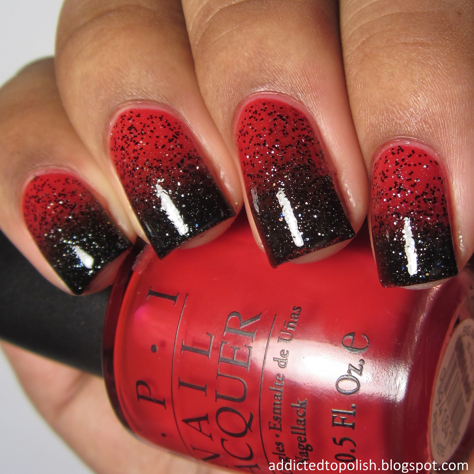 anti valentines day gradient red black