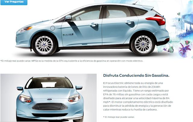 Ford EV nuevos autos 2014