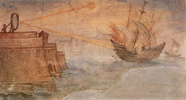 Unbelievable inventions by ancient Greeks that remained unexplained until the 20th century - Archimedes' Burning Mirrors